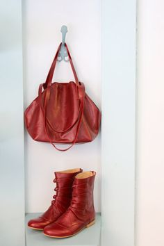 NEW Bordeaux Leather shoulder Bag womens  handmade by ADIKILAV