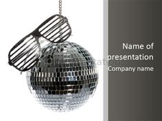 Style discotheque party PowerPoint Template