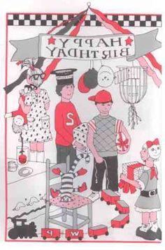 andersom-kinderfeestje thuis April Fools, Kids Rugs, Birthday, Character, Decor, Om, Party Ideas, Birthdays, Decoration