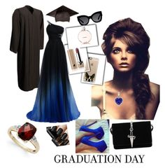 """""""Formatura"""" by alinesantos16 ❤ liked on Polyvore featuring Casetify, Karen Walker, Cesare Paciotti, Chanel, Marc Jacobs and graduationdaydress"""