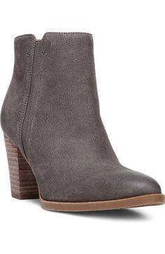 Franco Sarto 'Dipali' Block Heel Bootie (Women) available at Size 8 Nimbus  Grey Leather
