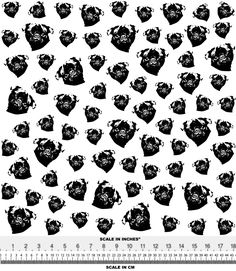 Items similar to Pug Fabric By The Yard, Black White Dog Print Fabric For Baby Clothes, Organic Newborn Puppy Fabrics, Pug Baby Gift, Ships From US or EU on Etsy Newborn Puppies, Baby Dogs, Black And White Dog, White Dogs, Double Gauze Fabric, Newborn Outfits, Fleece Fabric, Pugs, Printing On Fabric
