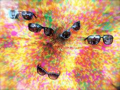 colourful strokes - sunglasses shop in Munich Munich Shopping, Ux Design, Graphic Design, Minimalist Photography, Sunglasses Shop, Minimal Design, Textures Patterns, Illustration, Ui Ux