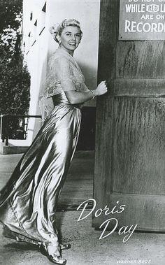 Doris Day ~ Warner Bros. postcard...