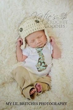 Katie's Crochet Goodies and Crafts: Free Aviator Crochet Hat Pattern