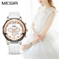MEGIR Luxury Brand Ladies Watch Fashion Leather Wrist Quartz Girl Watch for Women Lovers. Item Type: Quartz WristwatchesModel Number: 2042LWater Resistance Depth: 3BarCase Shape: RoundBand Material Type: LeatherBoxes & Cases Material: PaperStyle: DressFeature: Water Resistant,Complete Calendar,ChronographGender: WomenBrand Name: MEGIRClasp Type: BuckleCase Material: AlloyBand Width: 20mmMovement: QuartzBand Length: 20.5cmDial Window Material Type: HardlexCase Thickness: 12mmDial Diameter…