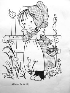 Coloring for adults - Kleuren voor volwassenen Coloring Pages For Girls, Colouring Pics, Coloring Book Pages, Coloring For Kids, Applique Quilt Patterns, Hand Embroidery Patterns, Painting Patterns, Fabric Painting, Quilling Patterns