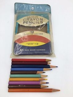 pencils Vintage color
