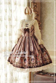 +DC+ 猫小姐 通常款无袖背带裙-定金Lolita-淘宝网