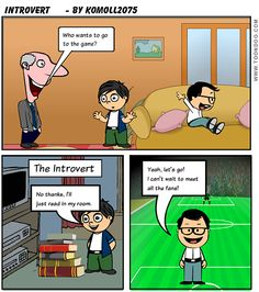 The Introvert Life - The Fremd High School English Ning