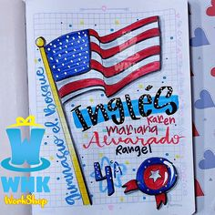 W N K workshop🎩 (@wonkasworkshop92) • Fotos y videos de Instagram Bullet Journal School, Bullet Journal Inspo, Bullet Journal Ideas Pages, Book Journal, Notebook Art, Notebook Covers, Lettering Tutorial, Hand Lettering, Bullet Journal Lettering Ideas