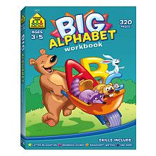 School Zone Big Get Ready Books: Big Alphabet Workbook