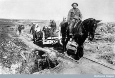 Horse Railway Ambulance Transport