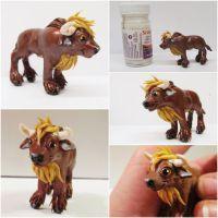 little european bison by Ladybird18