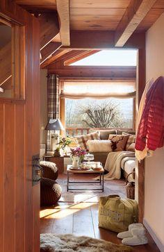 De madera por dentro y por fuera en 2019 Cabañas de
