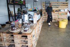 pallet furniture cafe bar - Поиск в Google