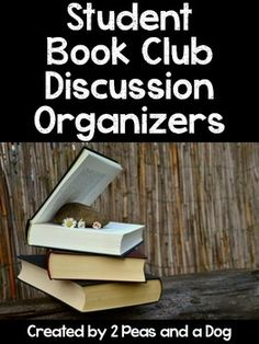 FREE: Book Club Discussion Organizer - This product is a collection of 6 graphic organizers plot, characters, connections, questions, predictions and a combination organizer to help student engage, connect and think about their reading.