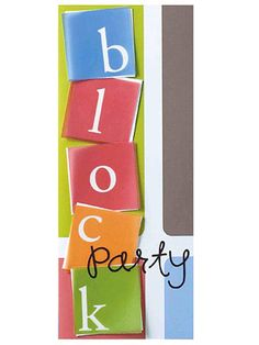 Block Party Card