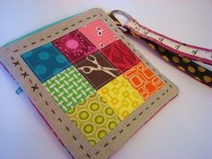 Pretty Little Pouch finished! by Michelle @ i like orange., via Flickr