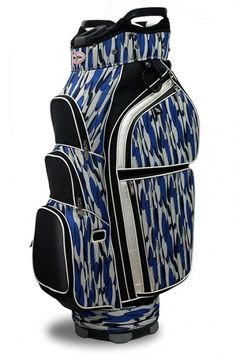 Stand out on the golf course with the bright, vivid patterns of this Allure Design (Skinny Dippin') Taboo Fashions Ladies Golf Cart Bag! Your personality will shine through with a golf bag from #lorisgolfshoppe!