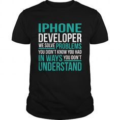 IPHONE-DEVELOPER T-SHIRTS, HOODIES (22.99$ ==► Shopping Now) #iphone-developer #shirts #tshirt #hoodie #sweatshirt #fashion #style
