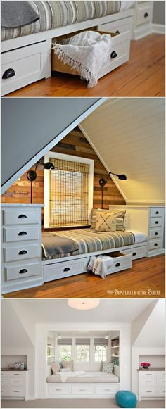 Clever Ways to Add or Boost Attic Storage – Universe