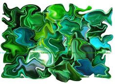 *Kayem Art Poster Smaragdgrüne Kugelfische