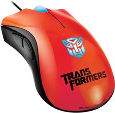 Razer Death Adder Transformer 3 (Optimus Prime)