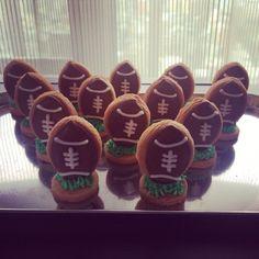 フットボールクッキー