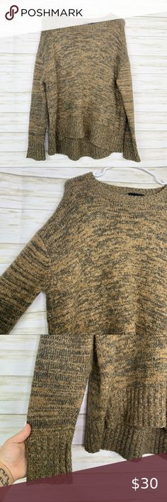 ZARA NAVY BLUE SEQUINNED SQUARE CROPPED KNITWEAR SWEATER SIZE M BNWT
