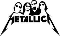 Metallica Tattoo, Metallica Art, Artist Wall, Painting Templates, Wall Paper Phone, Old Rock, Vinyl Music, Badass Tattoos, Black And White Painting