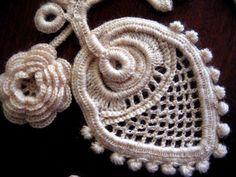 I love irish rose by crochet