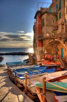 Riomaggiore , province of La Spezia, Liguria