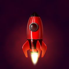 Learn How to Illustrate a Realistic Rocketship in Photoshop | PSDFan