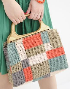 crochet bag     ♪ ♪ ... #inspiration_crochet #diy GB http://www.pinterest.com/gigibrazil/boards/