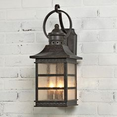 Day 28 (Lamp/Lighting Feature): I LOVE carriage lamps. They're old-world, rustic, and add such a beautiful warm glow to a room or outdoor space. #SummerStyleGiveaway #Impressions
