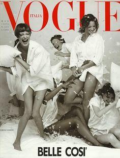 Vogue Italia, May 1993.