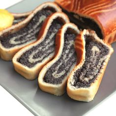 a yummy poppy seed roll recipe. Poppy Seed Roll Recipe from Grandmothers Kitchen. More