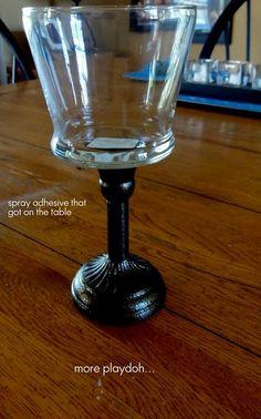6f9fc5d221 A Grace Full Life  Dollar Tree Craft- Cute Glass Holders Of Schtuff