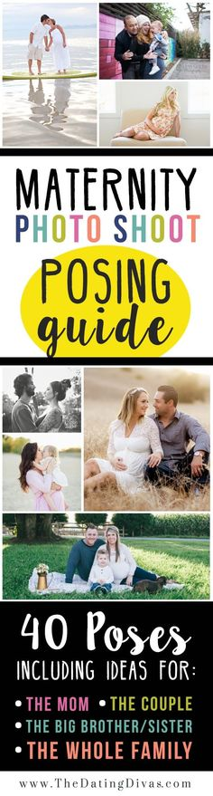 Maternity Posing Guide #PregnancyPhotography