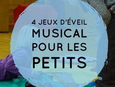 4 jeux d'éveil musical pour les petits
