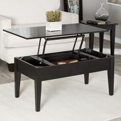 Lift Top Coffee Table Ideas For Living Room for Living Room. Having rough time choosing coffee table for your living room? Here's some ideas of lift top coffee table you may consider having in your living room: Espresso Coffee Table, Coffee Table Kitchen, Lift Up Coffee Table, Marble Top Coffee Table, Coffee Table Furniture, Coffee Table With Drawers, Black Coffee Tables, Cool Coffee Tables, Coffe Table