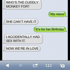 Dog texting his owner