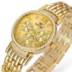 >> Click to Buy << Relojes mujer 2016 Luxury Brand Fashion Ladies Watches Folding Clasp With Safrty Waterproof Watches Quartz-watch Zegarki Damskie #Affiliate
