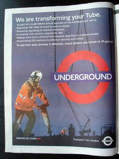 TRANSPORT FOR LONDON Campaign | Press Advert | by observista