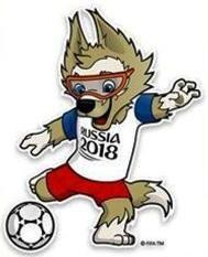 Rusia 2018: Zabivaka (un lobo)
