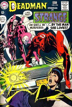 Strange Adventures 214 - Neal Adams Deadman