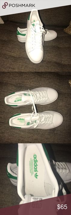 Men's Stan Smith Adidas Green 9.5 NEW As seen on photos. Doesn't come with box. adidas Shoes Sneakers