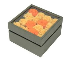 Square shape flower gift box with clear Window, Shapes, Box, Flowers, Gifts, Snare Drum, Presents, Windows, Favors