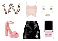 """""""we wear pink"""" by briar-valiant on Polyvore featuring Chinese Laundry, Context, Boohoo and Topshop"""